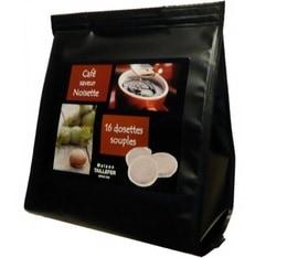 Dosettes café aromatisé à la noisette x 16 - Maison Taillefer