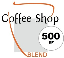 Café en grains Coffee Shop Blend - 500gr