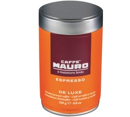 Café moulu pour espresso DE LUXE - Arabica/Robusta - 250g - Caffe Mauro