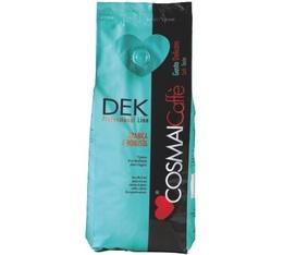 Café en grains décafeiné COSMAI DEK 500grs