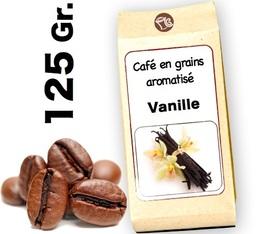 Café grain aromatisé Vanille - 125g