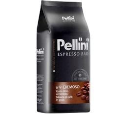 Café en grains Pellini N°9 Cremoso - Blend Arabica/Robusta - 1kg