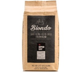 Café en grains Biondo (torréfaction filtre) 100% Arabica - 500g - Goppion Caffe