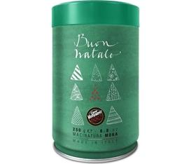 Boîte de Noël Verte - Café moulu Caffè Vergnano 100% Arabica - 250gr