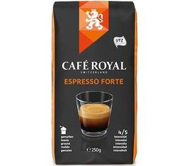 Café moulu Espresso forte - 100% Arabica- Café Royal  - 250g