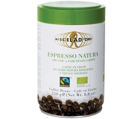 Café moulu bio Natura 250g - Miscela d'Oro