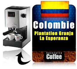 caf moulu pour machine expresso esperanza colombie. Black Bedroom Furniture Sets. Home Design Ideas