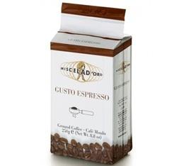 Café moulu Gusto espresso 250g - Miscela d'Oro