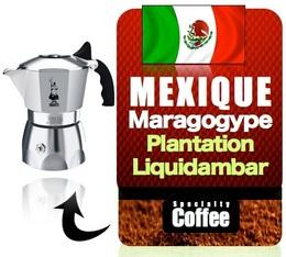Caf moulu pour cafeti re italienne maragogype 250 gr - Quel cafe pour cafetiere italienne ...