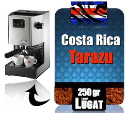 caf moulu pour machine expresso tarazu du costa rica. Black Bedroom Furniture Sets. Home Design Ideas