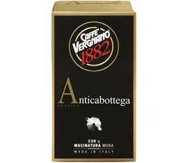 Café moulu Caffè Vergnano Antica Bottega 100% Arabica 250gr