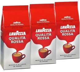 Café en grains Qualita Rossa Lavazza - 3 Kg
