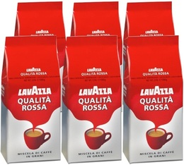 Café en grains Qualita Rossa Lavazza - 6 Kg