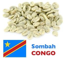 Café vert Lavé Congo Sombah - Région Kivu - 1 kg