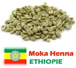 Café vert bio Moka Henna Lavé