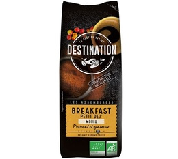 Destination 'Breakfast' organic ground coffee - 250g