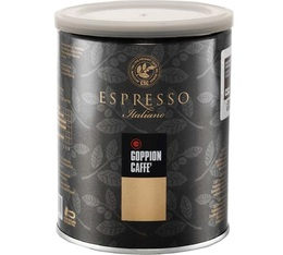Whole-bean Italian Arabica/Robusta Espresso - 250g - Goppion Caffè