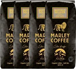 Café en grains bio - 100% Arabica Buffalo Soldier - 4x227g - Marley Coffee