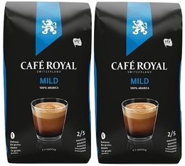 Café en grains Mild 100% Arabica - 2x1kg - Café Royal