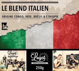 Café moulu pour cafetière filtre : Le Blend Italien (Mélange Italien) - 250g - Cafés Lugat