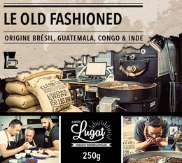 Café moulu pour cafetière filtre : Le Old Fashioned (Mélange traditionnel d'antan) - 250gr - Cafés Lugat