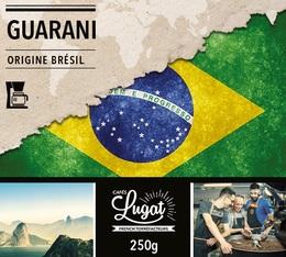 Café moulu pour cafetière filtre : Brésil - Guarani - 250g - Cafés Lugat