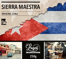 Ground coffee for filter coffee machines: Cuba - Sierra Maestra - 250g - Cafés Lugat