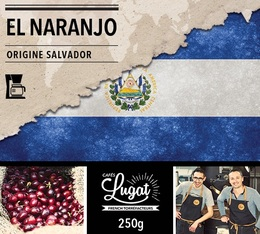 Ground coffee for filter coffee machines: El Salvador - El Naranjo - 250g - Cafés Lugat