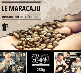 Café moulu pour cafetière italienne : Le Maracaju (anciennement Santa Claus) - 250g - Cafés Lugat
