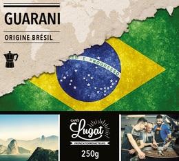 Café moulu pour cafetière italienne : Brésil - Guarani - 250g - Cafés Lugat