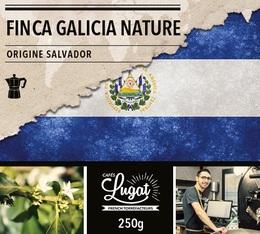 Café moulu pour cafetière italienne : Salvador - Finca Villa Galicia Nature - 250g - Cafés Lugat