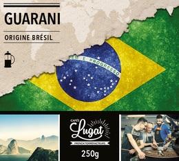 Café moulu pour cafetière piston : Brésil - Guarani - 250g - Cafés Lugat