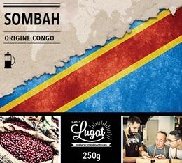 Café moulu pour cafetière à piston : Congo - Sombah - 250g - Cafés Lugat