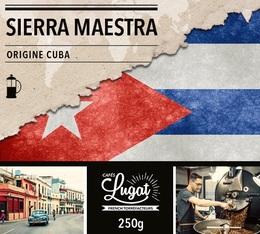 Café moulu pour cafetière piston : Cuba - Sierra Maestra - 250g - Cafés Lugat