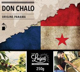 Café moulu pour cafetière piston : Panama - Don Chalo - 250g - Cafés Lugat