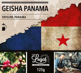 Café moulu pour cafetière à piston : Panama - Geisha - Torréfaction filtre - 125g - Cafés Lugat