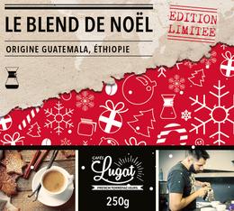 Café moulu pour cafetière Hario/Chemex : Le Blend de Noël (Mélange Gourmand) - 250g - Cafés Lugat