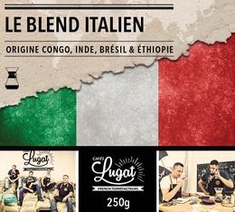 Café moulu pour cafetière Hario/Chemex : Le Blend Italien (Mélange Italien) - 250g - Cafés Lugat