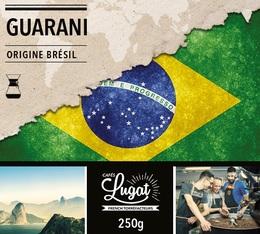 Café moulu pour cafetière Hario/Chemex : Brésil - Guarani - 250g - Cafés Lugat