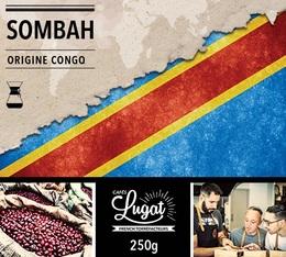 Café moulu pour cafetière Hario/Chemex : Congo - Sombah - 250g - Cafés Lugat