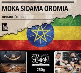 Café moulu pour cafetière filtre : Ethiopie - Moka Sidama Oromia - 250g - Cafés Lugat