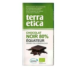 Tablette chocolat Noir 80% Equateur 100g - Café Michel