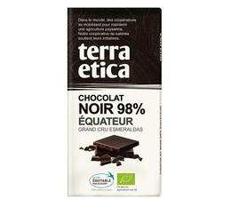 Tablette chocolat Noir 98% Equateur 100g - Café Michel