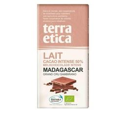 Tablette chocolat au Lait 50% Madagascar 100g - Café Michel