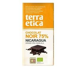 Tablette chocolat Noir 75% Nicaragua 100g - Café Michel