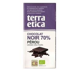 Tablette chocolat Noir 70% Pérou 100g - Café Michel