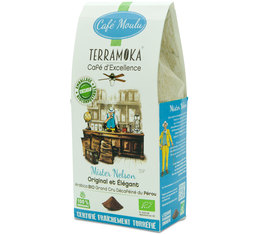 Terramoka 'Mister Nelson' organic decaffeinated ground coffee - 250g