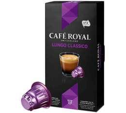 Capsules Café Royal Lungo classico x 10 pour Nespresso