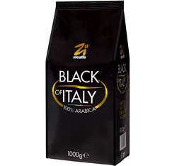 Café en grains 100% Arabica Black of Italy Zicaffè 1kg