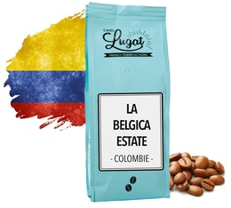 Café en grains : Colombie - La Belgica estate - 250gr - Cafés Lugat